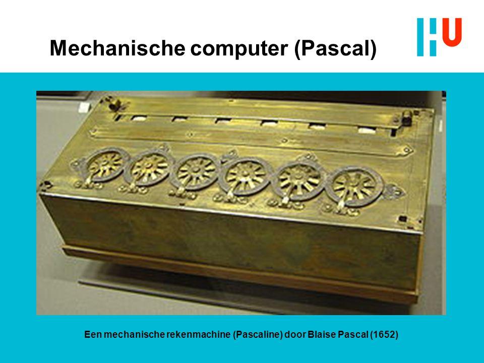 Mechanische computer (Pascal)