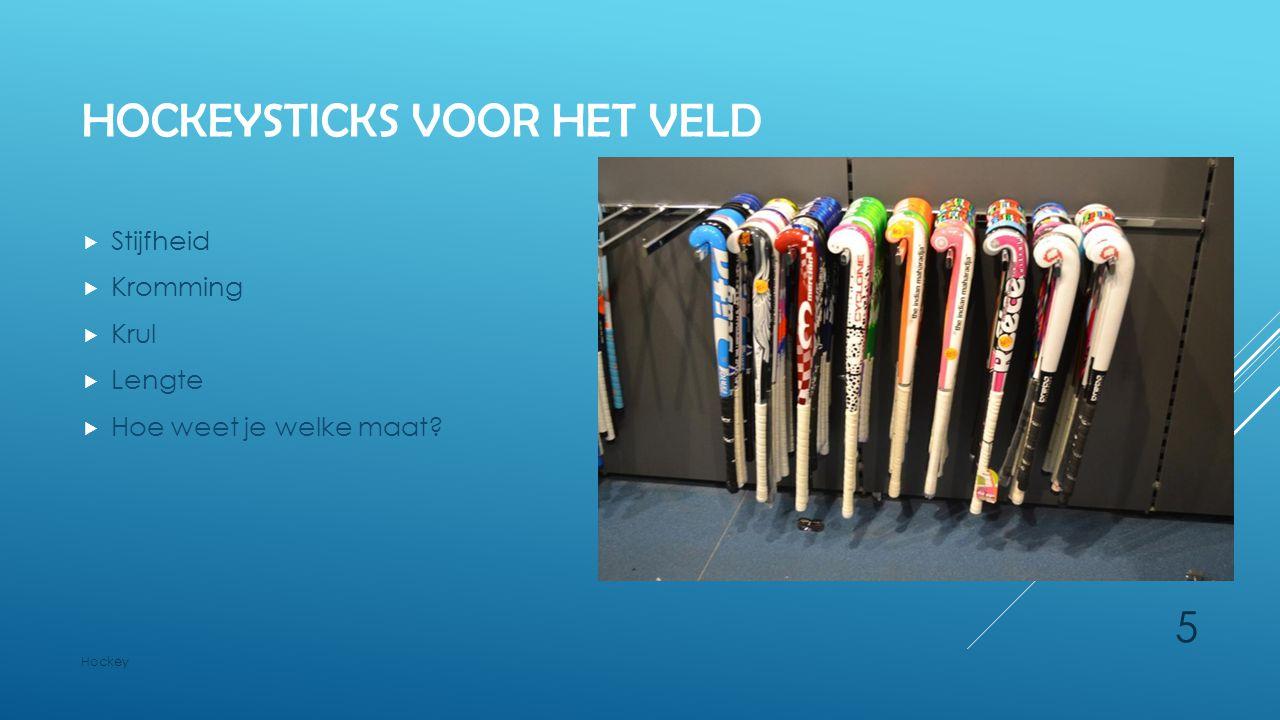 Hockeysticks voor het veld