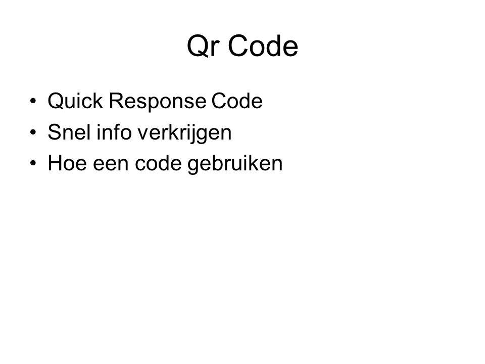 Qr Code Quick Response Code Snel info verkrijgen