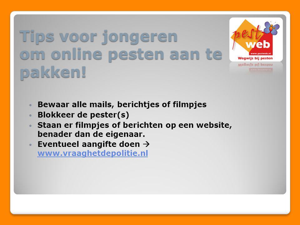 Tips voor jongeren om online pesten aan te pakken!