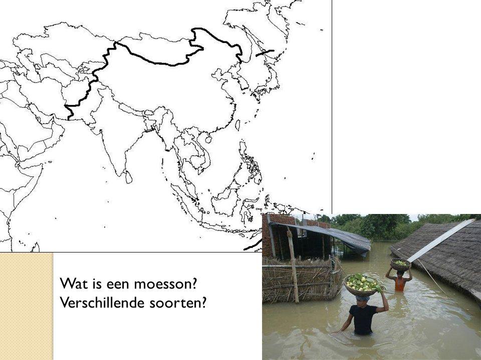 Wat is een moesson Verschillende soorten