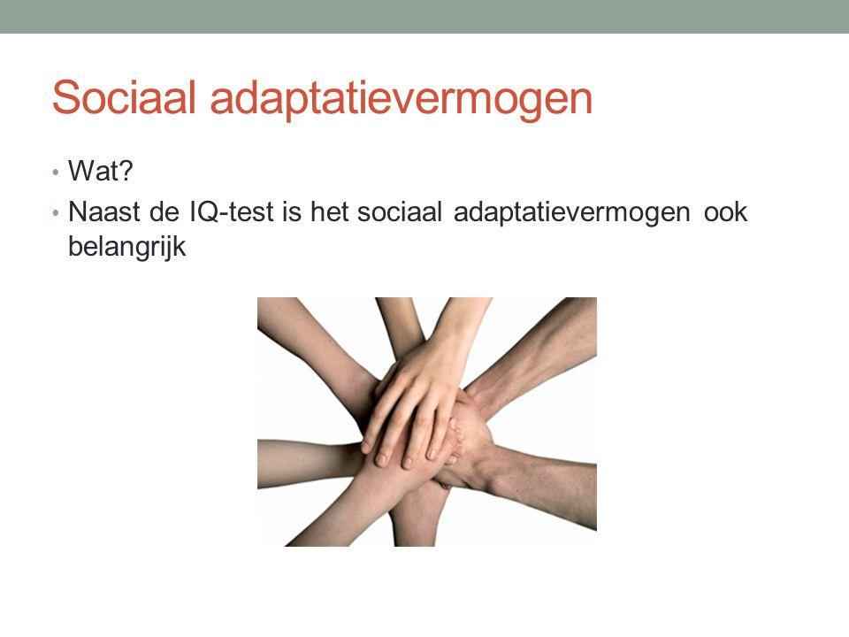 Sociaal adaptatievermogen