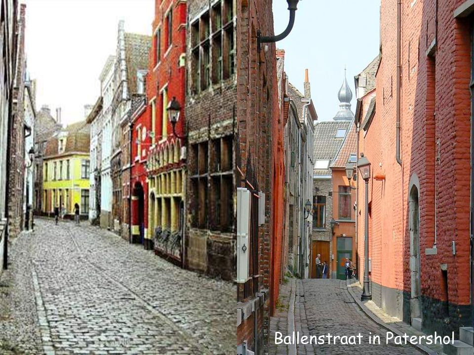 Ballenstraat in Patershol