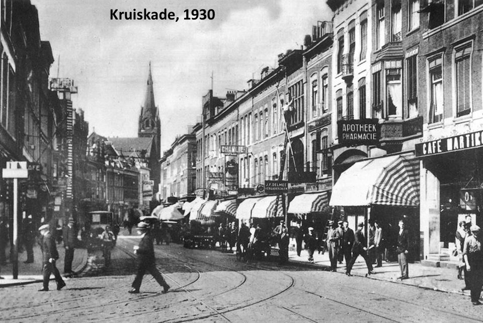 Kruiskade, 1930