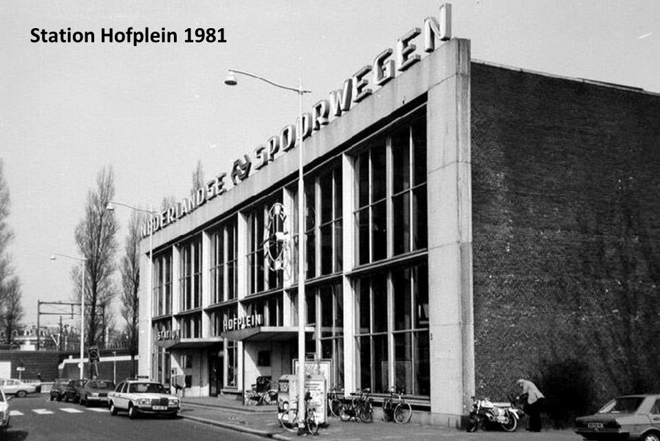 Station Hofplein 1981