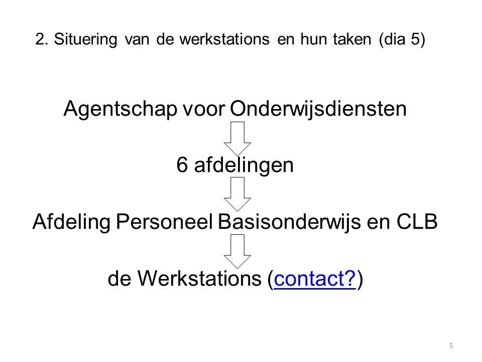 2. Situering van de werkstations en hun taken (dia 5)