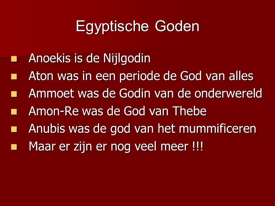 Egyptische Goden Anoekis is de Nijlgodin