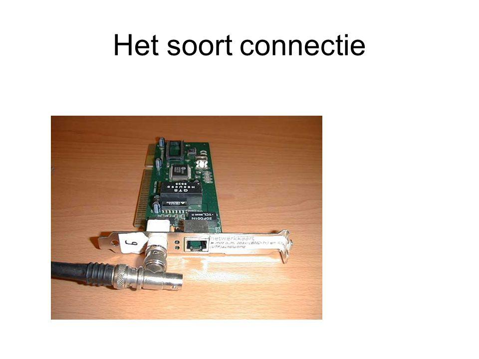 Het soort connectie