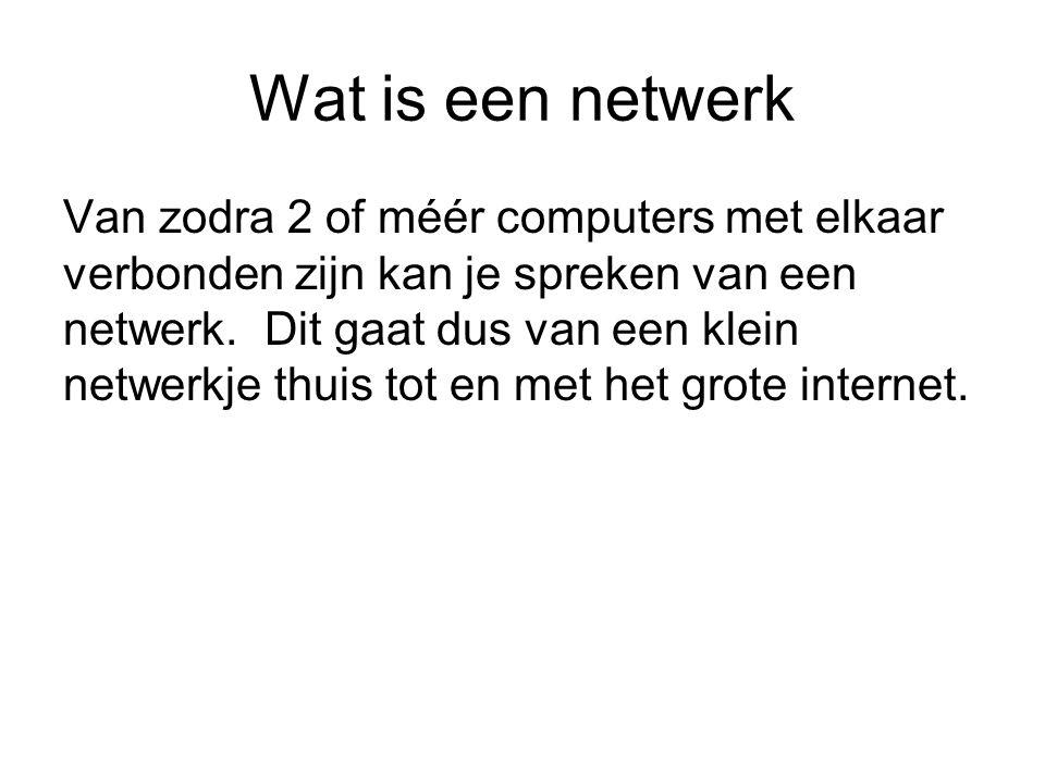 Wat is een netwerk