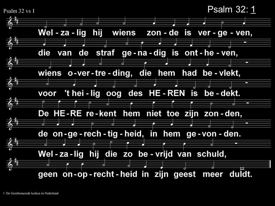 Psalm 32: 1
