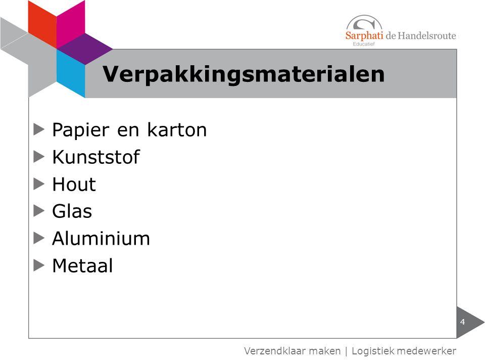 Verpakkingsmaterialen