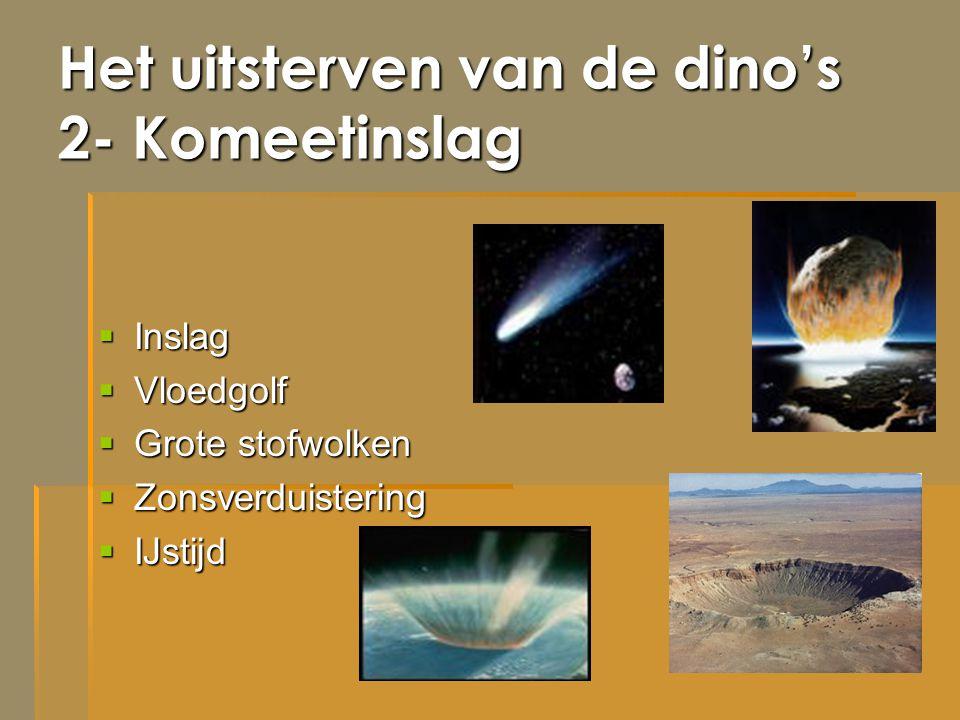 Het uitsterven van de dino's 2- Komeetinslag
