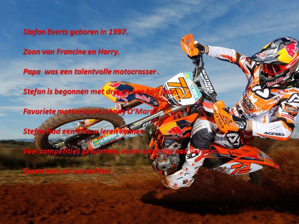 Stefan Everts geboren in 1997.
