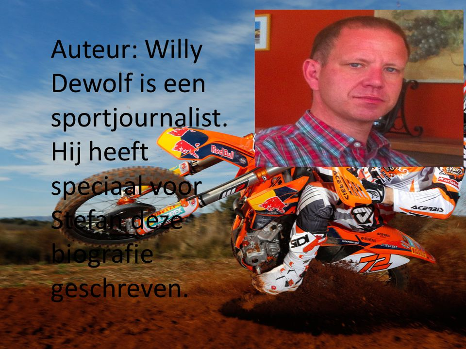 Auteur: Willy Dewolf is een sportjournalist