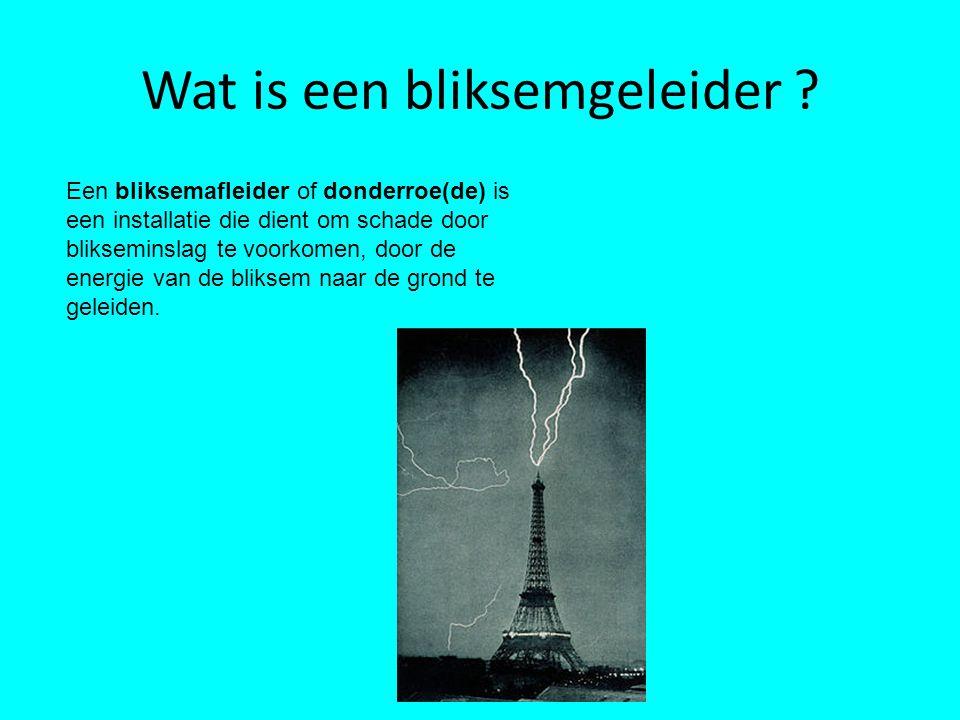 Wat is een bliksemgeleider