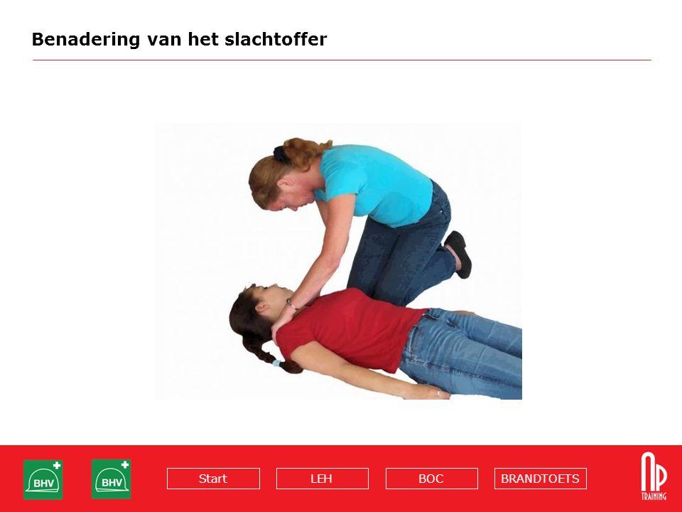 Benadering van het slachtoffer