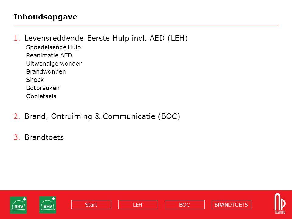 Levensreddende Eerste Hulp incl. AED (LEH)