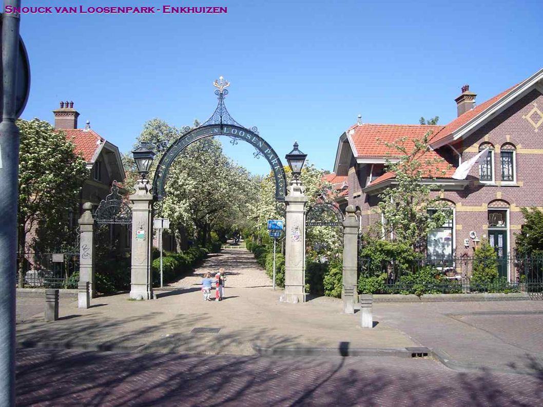 Snouck van Loosenpark - Enkhuizen