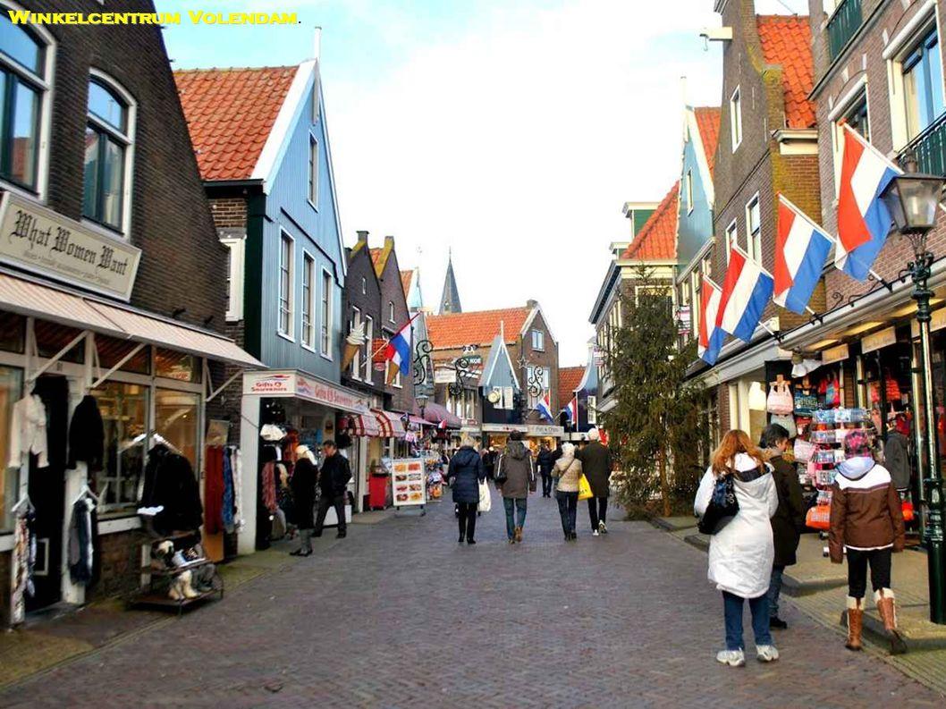 Winkelcentrum Volendam.