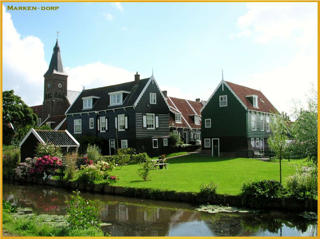 Marken - dorp