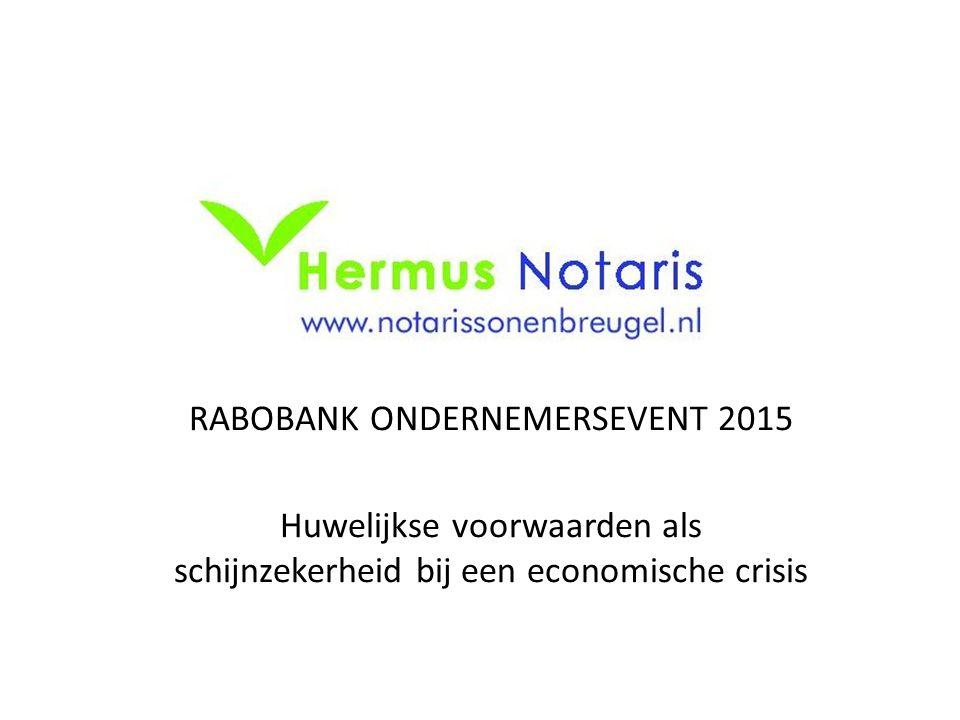 RABOBANK ONDERNEMERSEVENT 2015