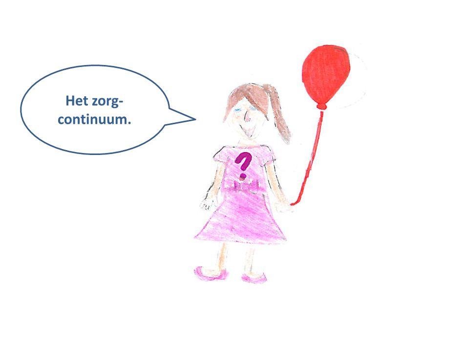 HGW Het zorg- continuum.