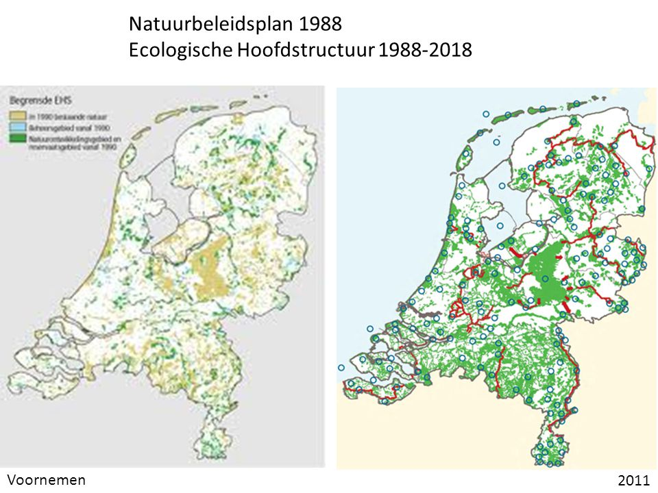 Ecologische Hoofdstructuur 1988-2018