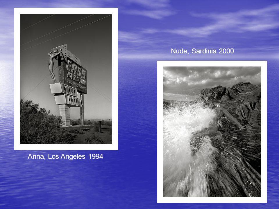 Nude, Sardinia 2000 Anna, Los Angeles 1994