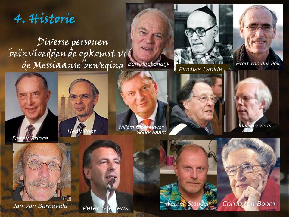 Diverse personen beïnvloedden de opkomst van de Messiaanse beweging