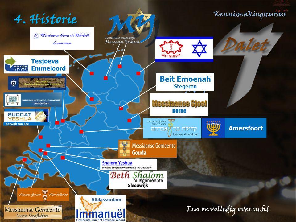 4. Historie Beit Emoenah Stegeren Een onvolledig overzicht