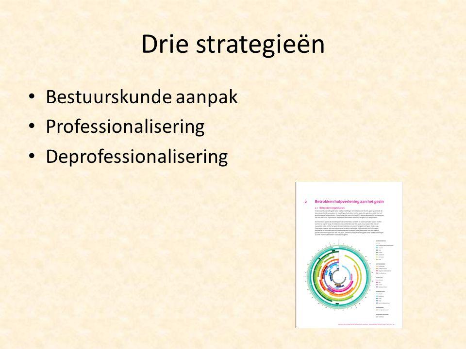 Drie strategieën Bestuurskunde aanpak Professionalisering