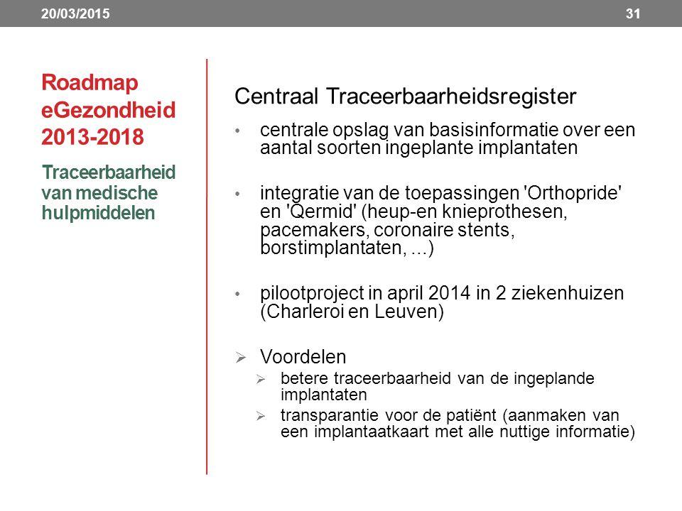 Centraal Traceerbaarheidsregister
