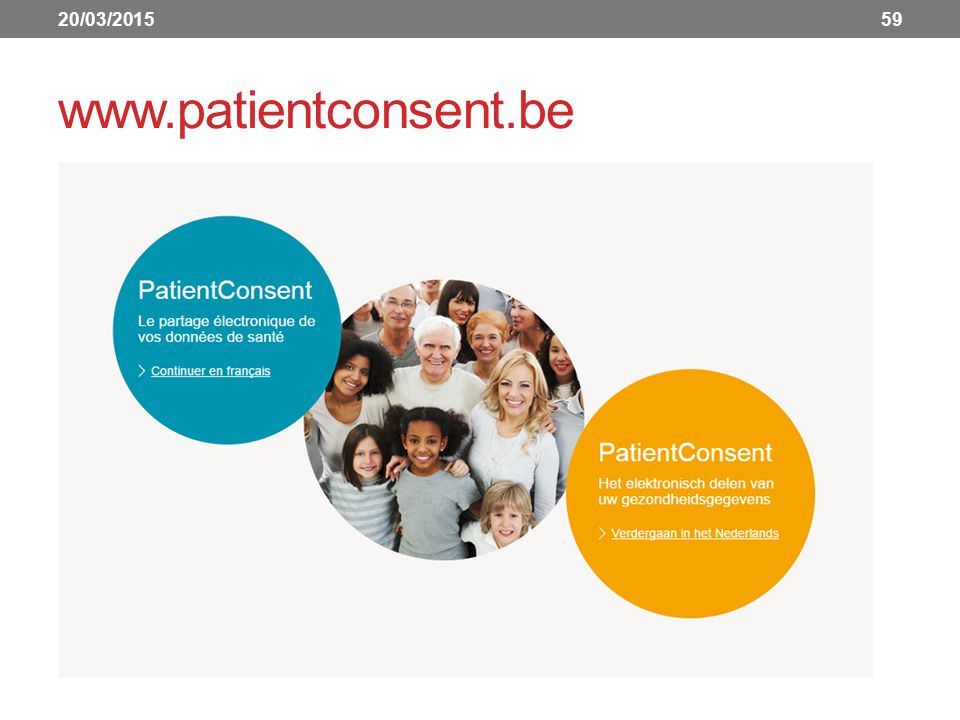 20/03/2015 www.patientconsent.be