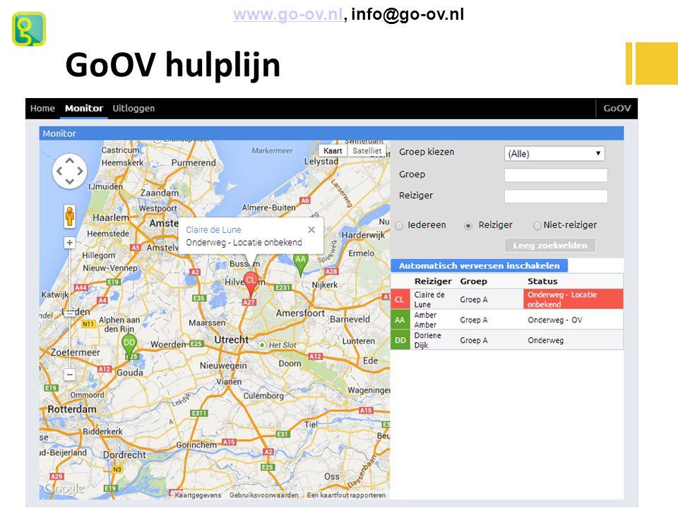 www.go-ov.nl, info@go-ov.nl