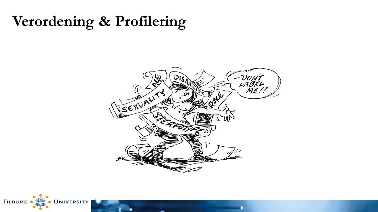 Verordening & Profilering