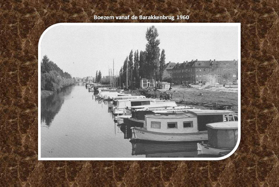 Boezem vanaf de Barakkenbrug 1960