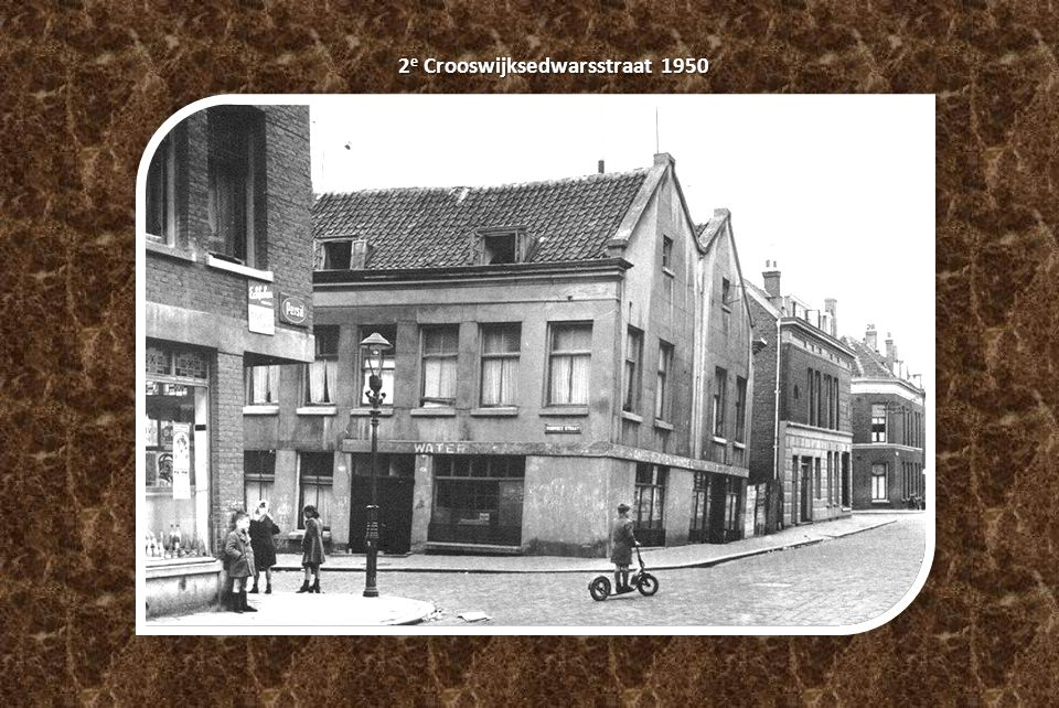 2e Crooswijksedwarsstraat 1950