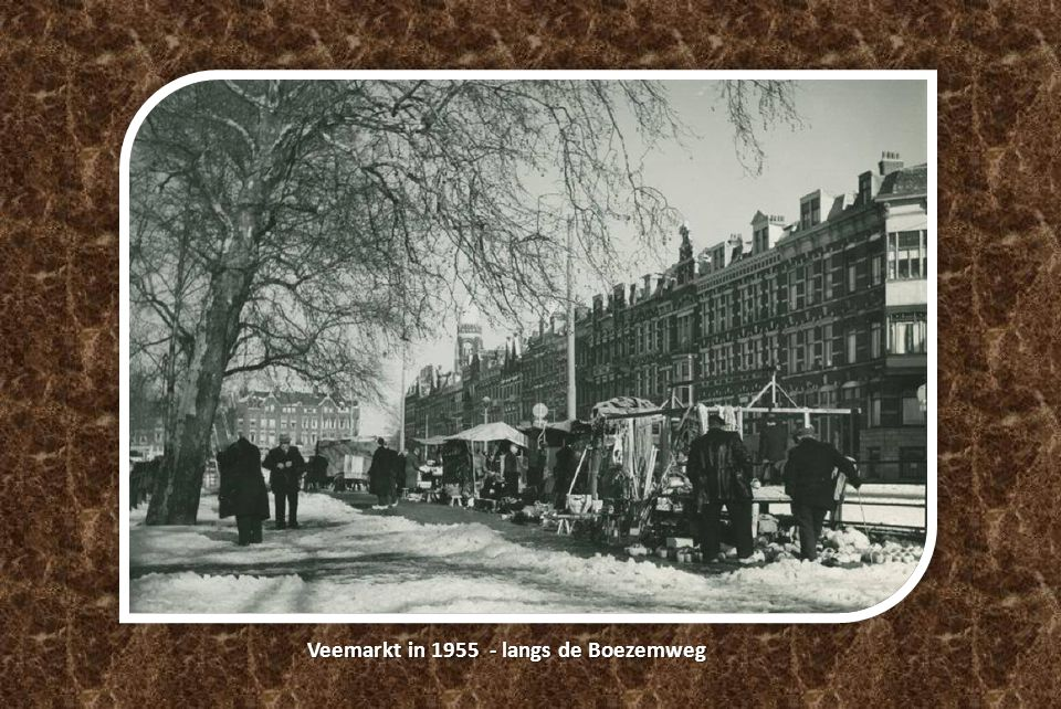 Veemarkt in 1955 - langs de Boezemweg