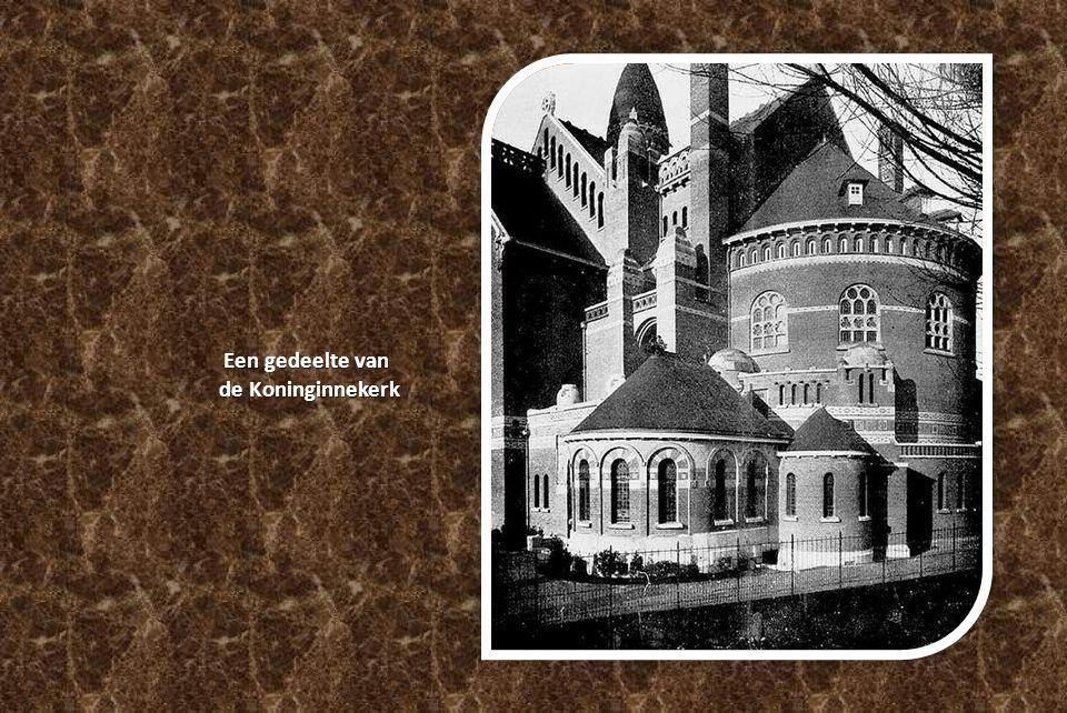 Een gedeelte van de Koninginnekerk