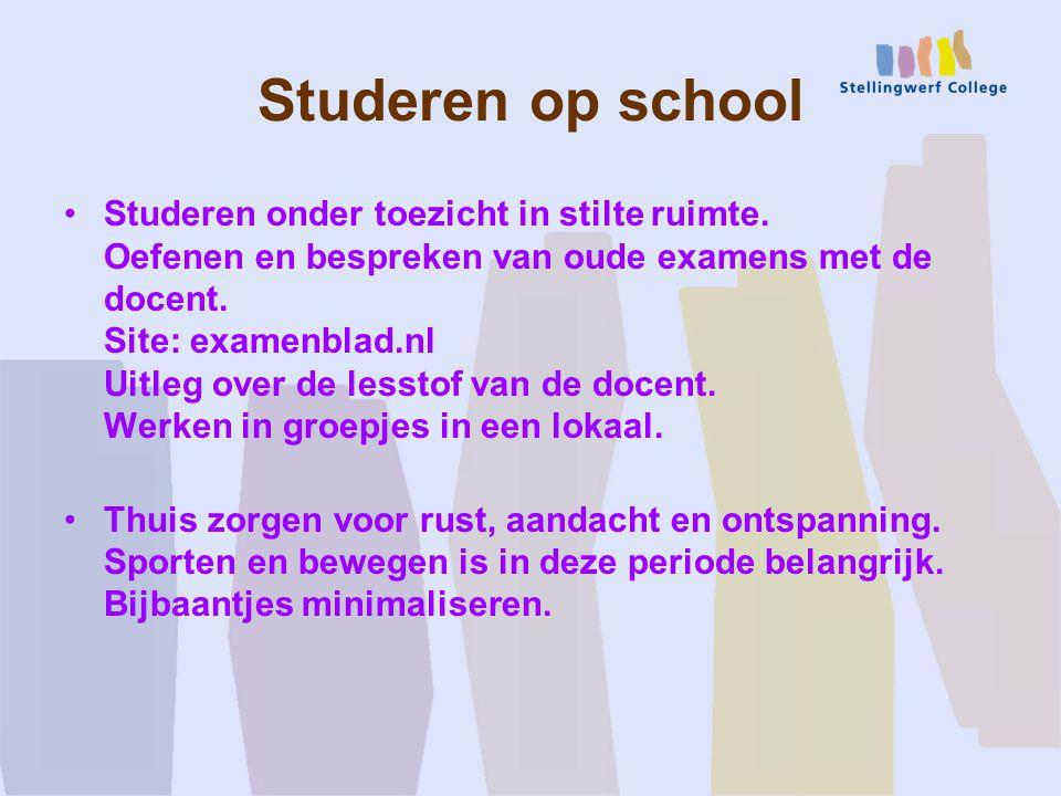 Studeren op school