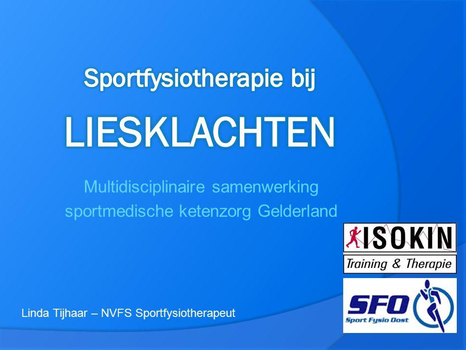 Sportfysiotherapie bij LIESKLACHTEN