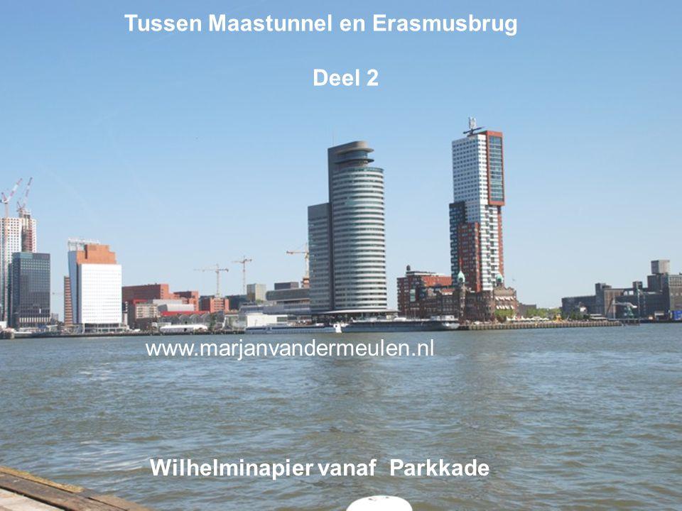 Tussen Maastunnel en Erasmusbrug