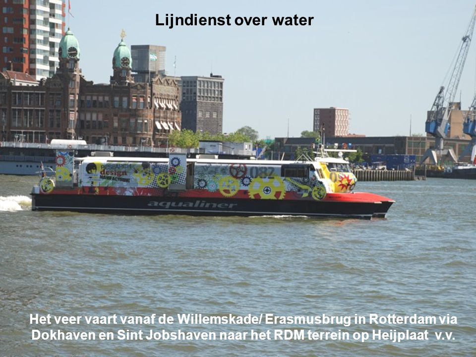 Lijndienst over water
