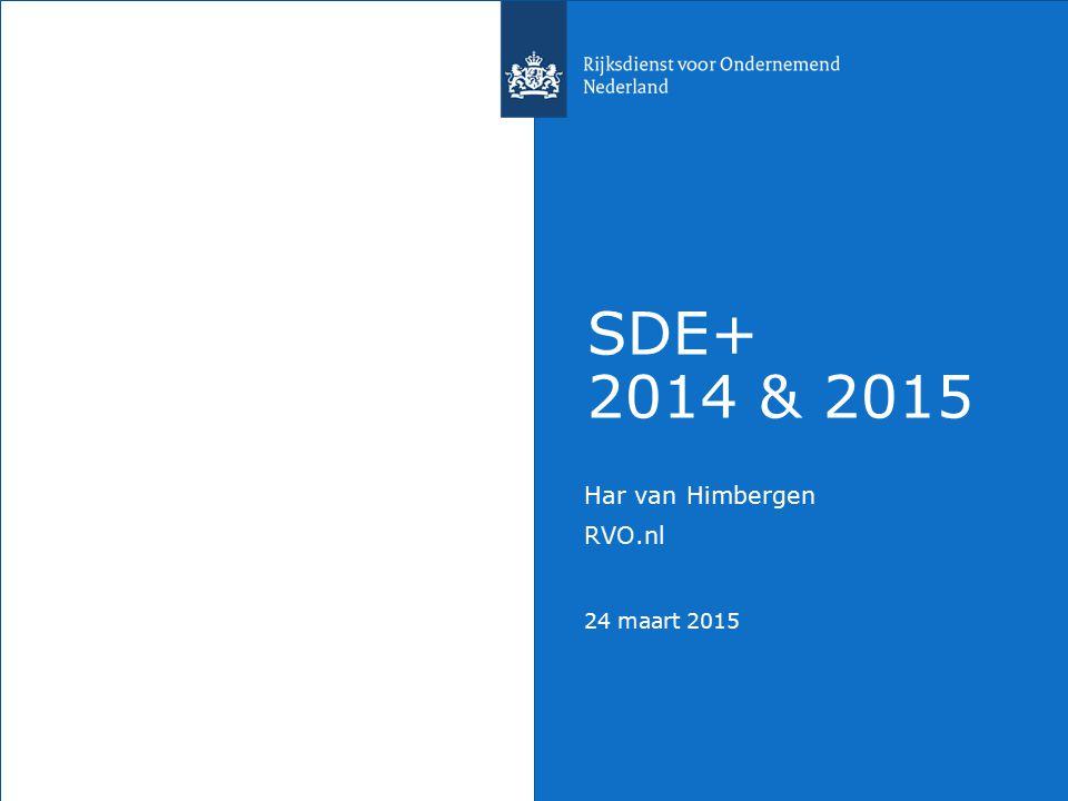 Har van Himbergen RVO.nl 24 maart 2015