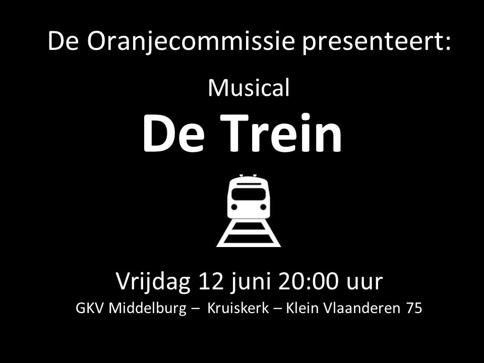 De Oranjecommissie presenteert: