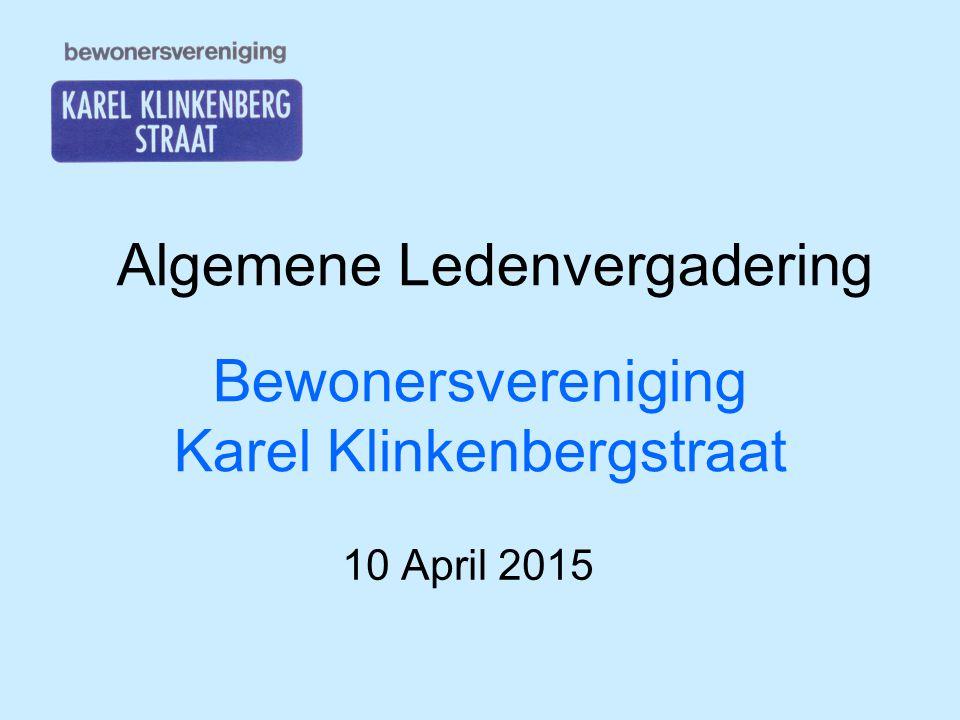Bewonersvereniging Karel Klinkenbergstraat