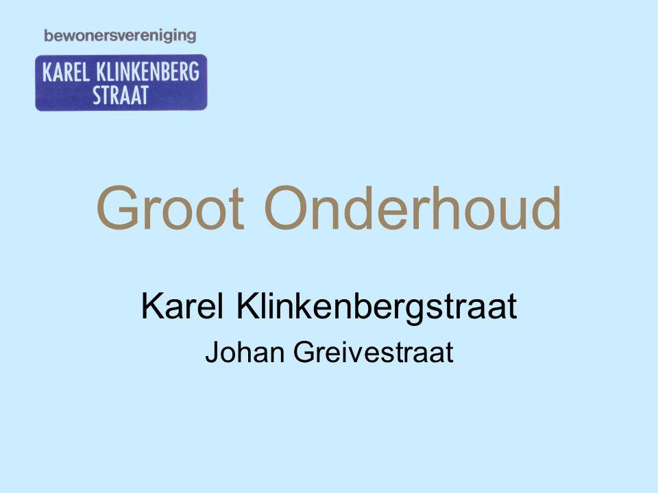 Karel Klinkenbergstraat Johan Greivestraat