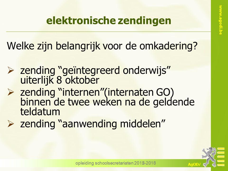 elektronische zendingen