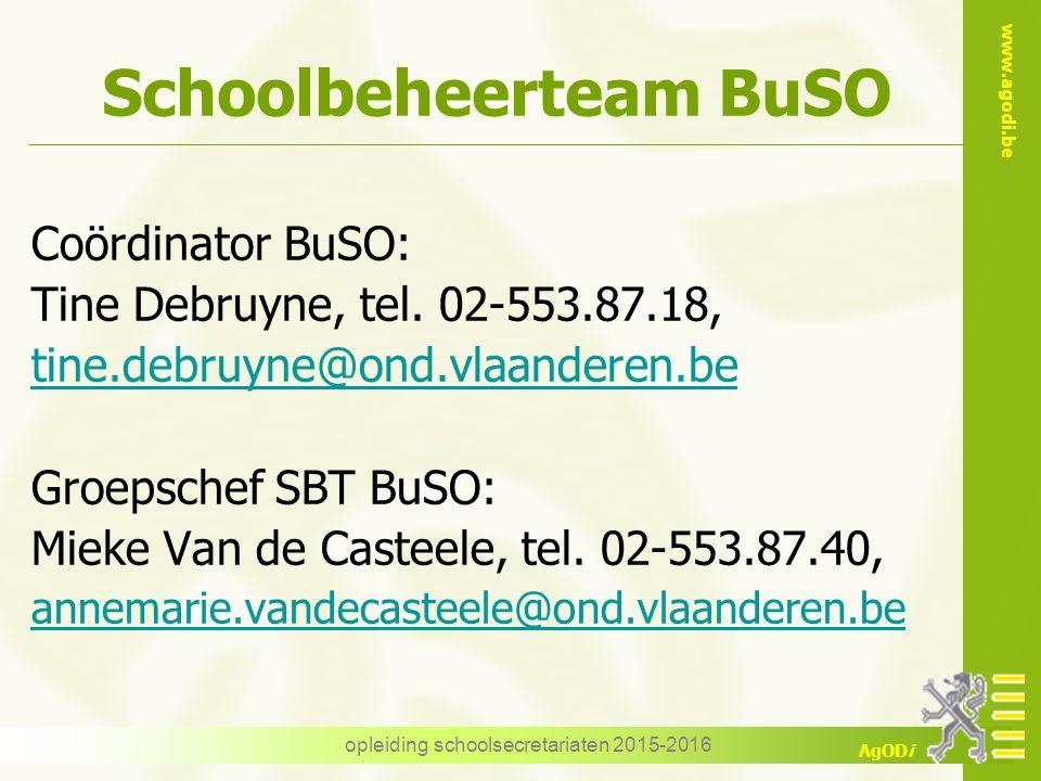 Schoolbeheerteam BuSO