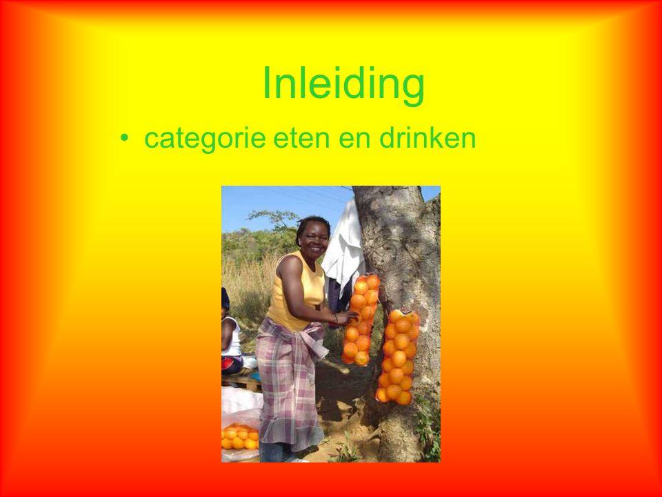 categorie eten en drinken